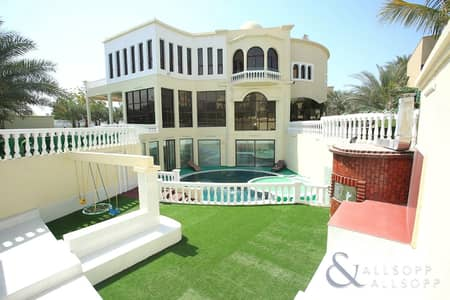 7 Bedroom Villa for Rent in Emirates Hills, Dubai - Available July | 8 Bedrooms | Private Pool