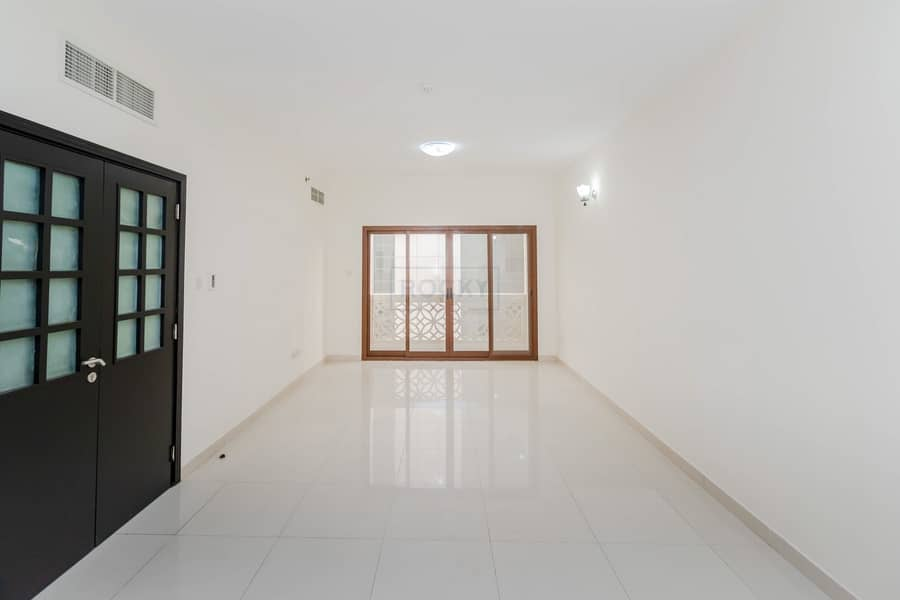 2 Spacious 2 B/R Apts with Closed Kitchen & Balcony | Swimming Pool & Gym | Al Barsha