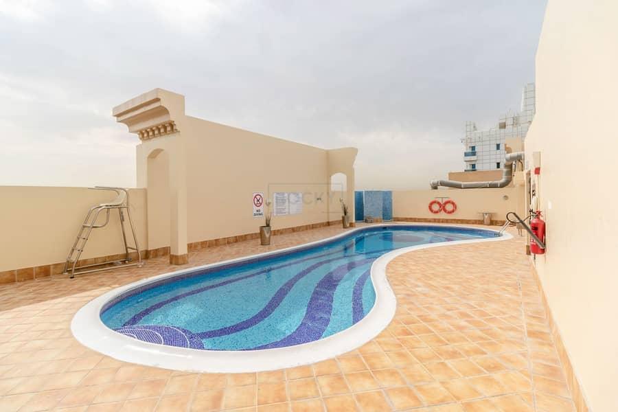 15 Amazing 1 B/R Apts with Closed Kitchen & Balcony   Swimming Pool & Gym   Al Barsha