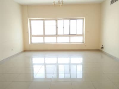 2 Bedroom Flat for Rent in Muwailih Commercial, Sharjah - Grand offer 2Bedroom Bigger Hall 3Bathrooms wardeobes  Maid Room Big Kitchen balcony Central ac Central gas Only 35K in muwailih