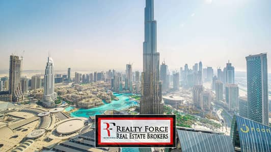 فلیٹ 4 غرف نوم للايجار في وسط مدينة دبي، دبي - FULL BURJ VIEW | PRIME 4BR | HIGH FLOOR