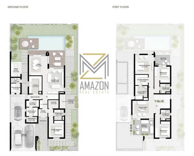 13 Spacious 4 Bedroom | Garden Suite | Crystal Lagoon | Flexible Payment Plan | Harmony - Tilal Al Ghaf