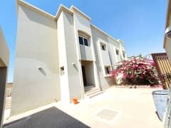 No deposit - like new 3 Bed Villa with parking, maid room in just 85k - in Barashi