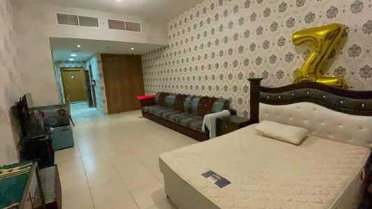 Studio for Rent in Al Rashidiya, Ajman - For rent in Ajman furnished studio in Ajman Towers and a very privileged location close to all services and the Corniche