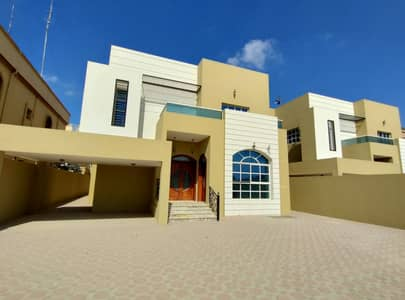 5 Bedroom Villa for Sale in Al Mowaihat, Ajman - A large area, a very attractive price opportunity, the villa, super deluxe finishing