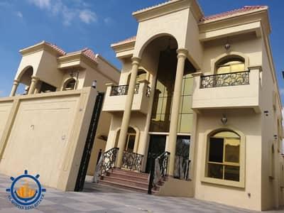 طابق سكني 5 غرف نوم للبيع في المويهات، عجمان - فيلا للبيع تصميم عصري حديث و تشطيبات روعة وموقع ممتاز جدا بعجمان