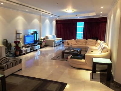 3 Bedroom Apartment for Rent in Jumeirah Lake Towers (JLT), Dubai - Furnished|Spacious|High floor|Vacant