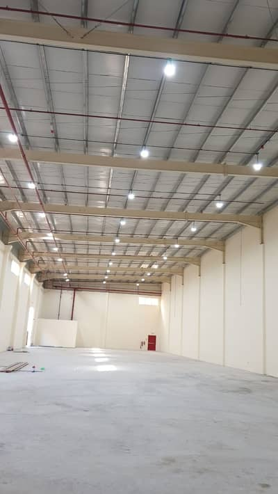 Warehouse for Rent in Al Ramlah, Umm Al Quwain - Warehouse for rent in 13,000 sqft 200KW power @AED 190,000 in UAQ