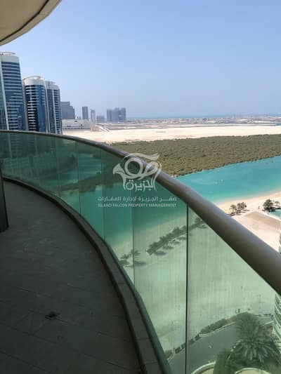 1 Bedroom Flat for Rent in Al Reem Island, Abu Dhabi - Full mangrove view | Balcony | elegant