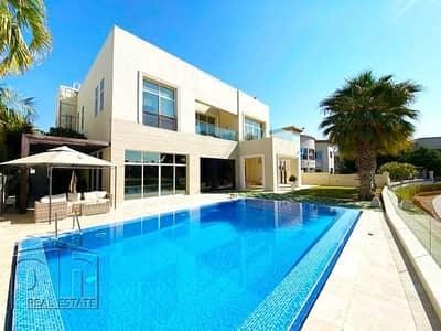 فیلا 6 غرف نوم للايجار في تلال الإمارات، دبي - Spectacular furnished 6 bedroom villa