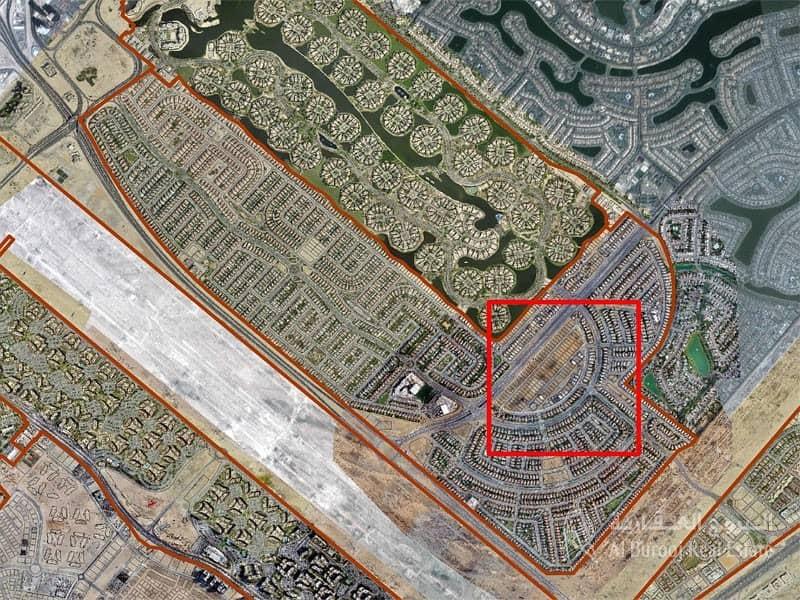 2 Jumeirah Park | Plot for Villa | Cluster M (Semi Circle)