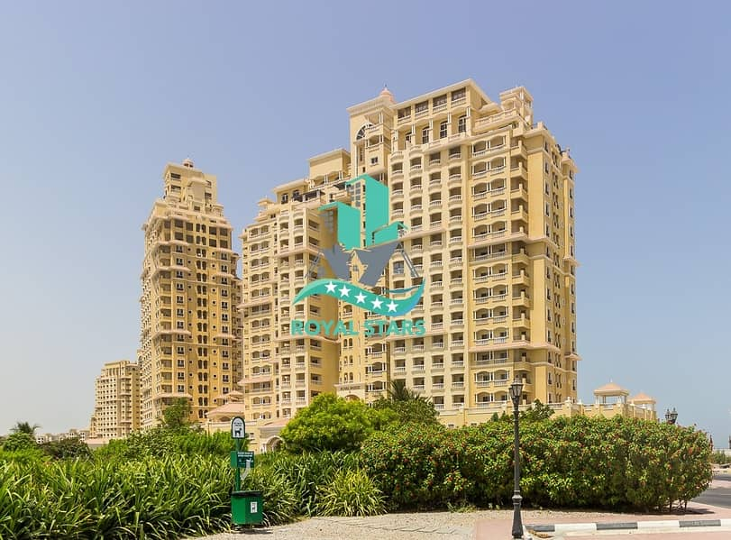 2 Fully Furnished Large Balcony 1BR in Royal Breeze