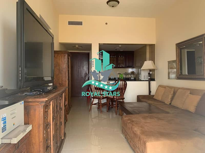 13 Fully Furnished Large Balcony 1BR in Royal Breeze