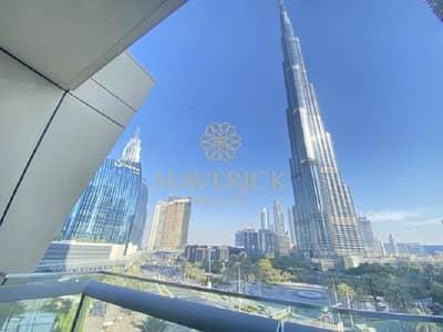 2 Bedroom Apartment for Rent in Downtown Dubai, Dubai - Huge 2BR   Chiller Free   Burj Khaifa View