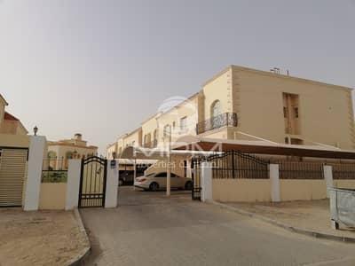 4 Bedroom Villa for Rent in Khalifa City A, Abu Dhabi - Nice 4 Bedroom Compound Villa + Maids Room