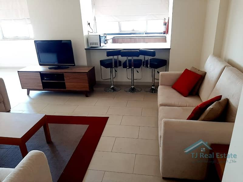11 FULLY FURNISHED ! 1BHK ! RENT ! SPIRIT TOWER.