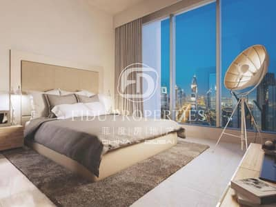 1 Bedroom Apartment for Sale in Downtown Dubai, Dubai - Exclusive |Higher floor |Panoramic view| Rare unit