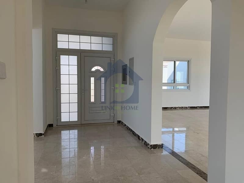 Brand new villa in shakhbout city with 6 bedroom