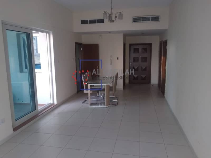 Spacious/1BR/Unfurnished/Chiller Free/46K