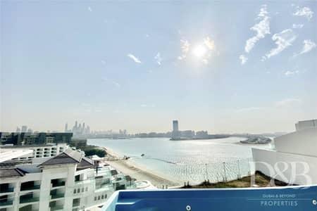 بنتهاوس 3 غرف نوم للايجار في نخلة جميرا، دبي - Penthouse | Roof Terrace | Private Pool