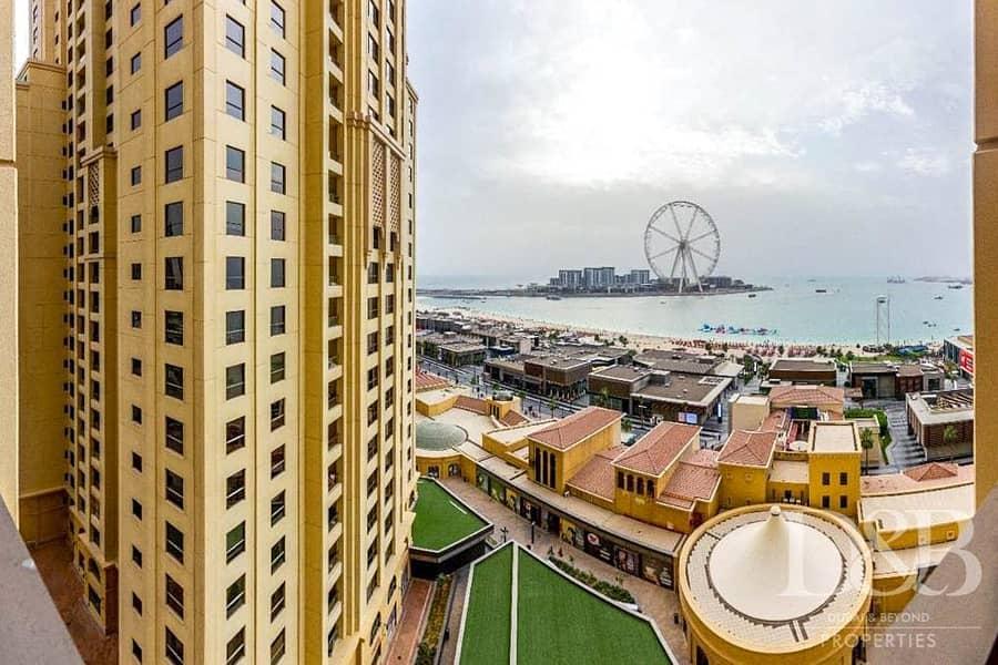 2 Full Dubai Eye and Sea Views   Balcony   Spacious