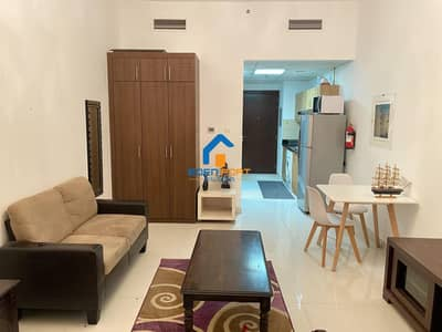Studio for Rent in Dubai Sports City, Dubai - Spacious Fully Furnished Studio Flat For Rent ....