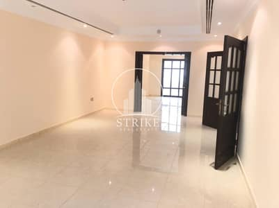 5 Bedroom Villa for Rent in Al Nahyan, Abu Dhabi - Well Fitted & bright  villa with bay type windows
