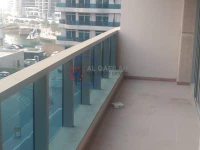 فلیٹ 1 غرفة نوم للايجار في دبي مارينا، دبي - Spacious  | Chiller Free | Balcony with Community view | 45K