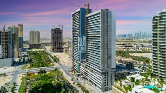 شقة 1 غرفة نوم للبيع في قرية جميرا الدائرية، دبي - move on NOW in jumeurh village circle bloom towers one bedroom two bedroom just pay 25% and take the key . 5 years post