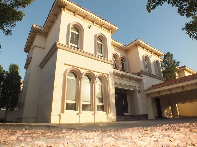 2 High Quality  property  independent 6bhk villa in safa 1 with P .garden  & S.pool rent is 250k