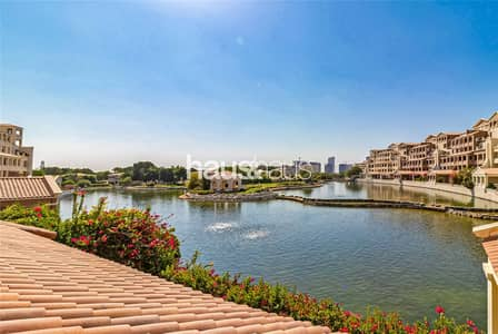 3 Bedroom Flat for Rent in Motor City, Dubai - Full Lake View   1st April   Call to View
