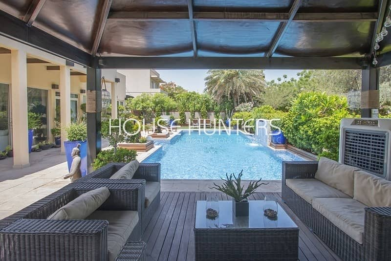 2 Saheel | Fully upgraded with a Swimming pool