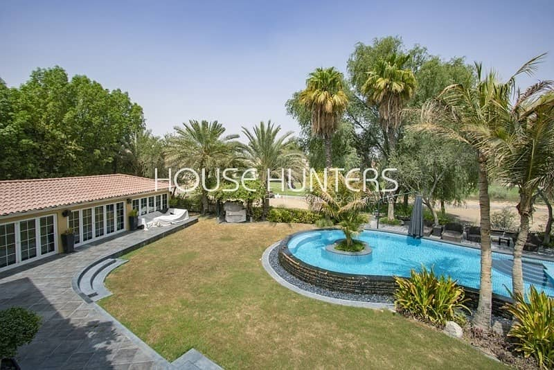 2 Golf course| Upgraded | Massive plot|La Coleccion