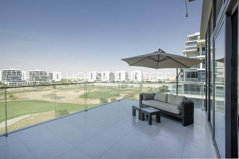 2 Exclusive | Golf course view | Excellent 2Br +maid