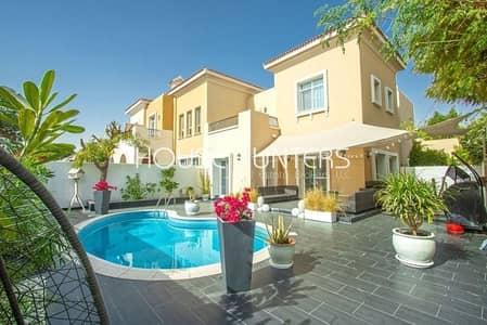 3 Bedroom Villa for Sale in Arabian Ranches, Dubai - Exclusive Type 1e Private pool  3 bed + S + M + F