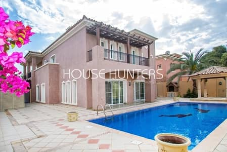 5 Bedroom Villa for Sale in Arabian Ranches, Dubai - Stunning Mirador Upgraded 5BR private pool