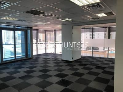 Office for Rent in Jumeirah Lake Towers (JLT), Dubai - AMAZING OFFICE SPACE|NEAR METRO| DMCC |BEST LAYOUT