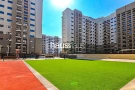 شقة في بناية القدرة 4 تاون سكوير 1 غرف 28000 درهم - 5027093