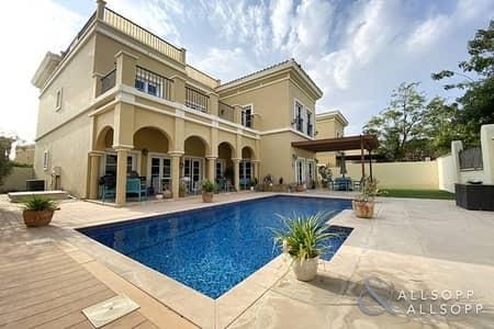 4 Bedroom Villa for Rent in The Villa, Dubai - Private Pool   4BR Single Row   Large Plot