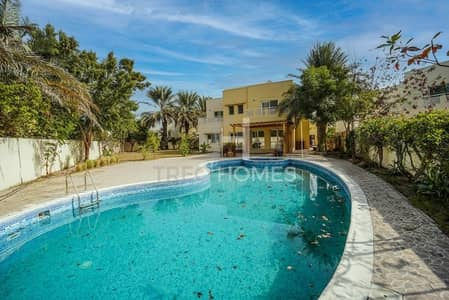 فیلا 5 غرف نوم للايجار في السهول، دبي - Type 8 I Private Pool I Huge Plot I Vacant