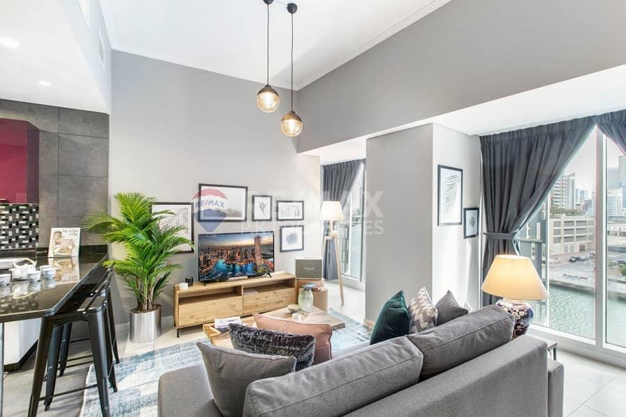 Full Marina View | Low Floor | Large Studio