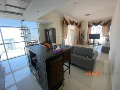 2 Bedroom Apartment for Sale in Jumeirah Village Circle (JVC), Dubai - 2 bed + maid's room | Panoramic view | Fully Furnished |