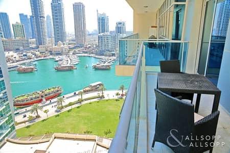 شقة 2 غرفة نوم للبيع في دبي مارينا، دبي - Exclusive | Upgraded | Marina + Dubai Eye