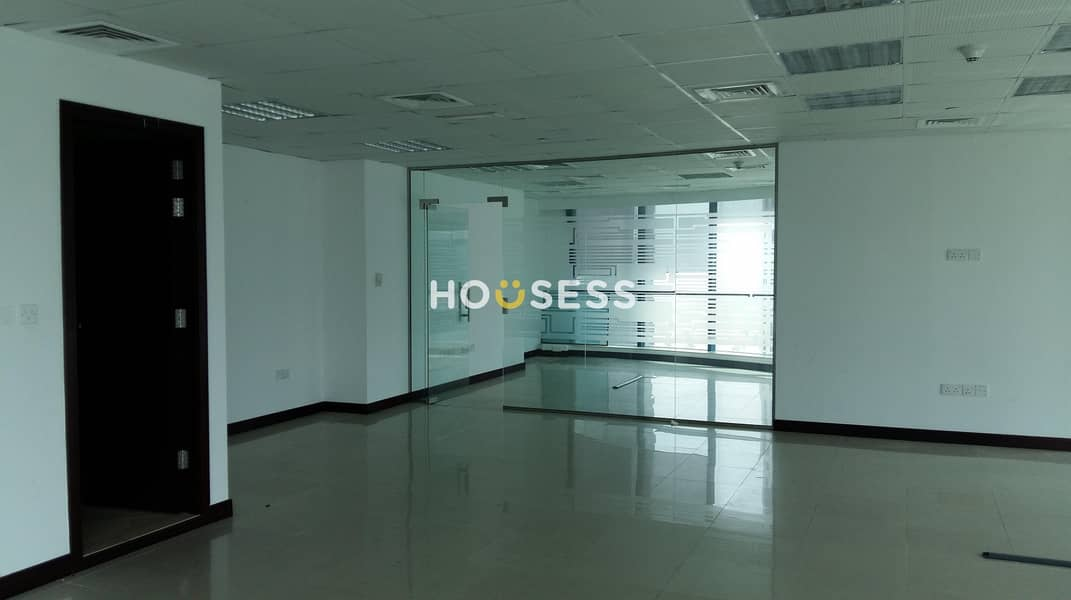 2 Fully Fitted Office with Glass Partitioned
