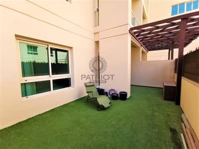 1 Bedroom Flat for Sale in The Greens, Dubai - Upgraded 1 BHk With Courtyard Fully Furnished