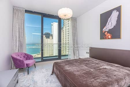 3 Bedroom Penthouse for Sale in Dubai Marina, Dubai - Excellent / Full sea view / Brand new