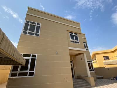 8 Bedroom Villa for Sale in Samnan, Sharjah - two-storey villa, eight rooms with central air conditioning, in Al Samnan
