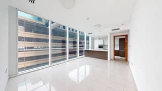 شقة في برج السلام شارع الشيخ زايد 2 غرف 100000 درهم - 5029807