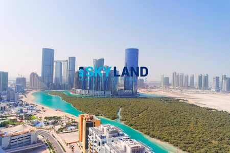 2 Bedroom Apartment for Rent in Al Reem Island, Abu Dhabi - Vacant ! 2BR+Maids with Semi-Closed Kitchen