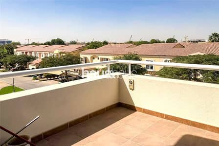 1 Bedroom Flat for Rent in Green Community, Dubai - Lake Apartments | 1 Bed | Large Balcony